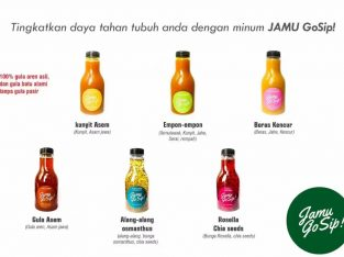 Jual JAMU Online GoSIP 5 botol-sistem p.o