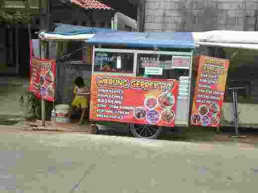 Paket Nasi Ayam Geprek Sambal Ijo Royo-royo Rp 14000,-