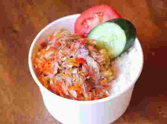 Rice Bowl sambal matah