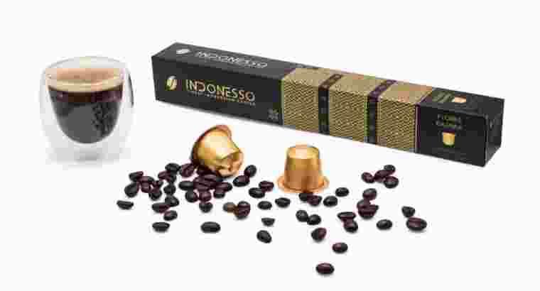 Kopi Kapsul Indonesso Flores Bajawa Nespresso