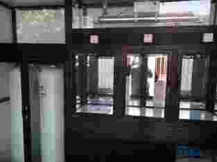 Mesin depo air isi ulang dan mesin pompanya