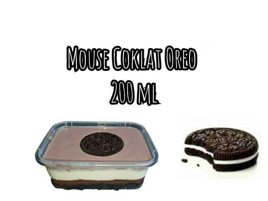Mousse Coklat Oreo 200 ml