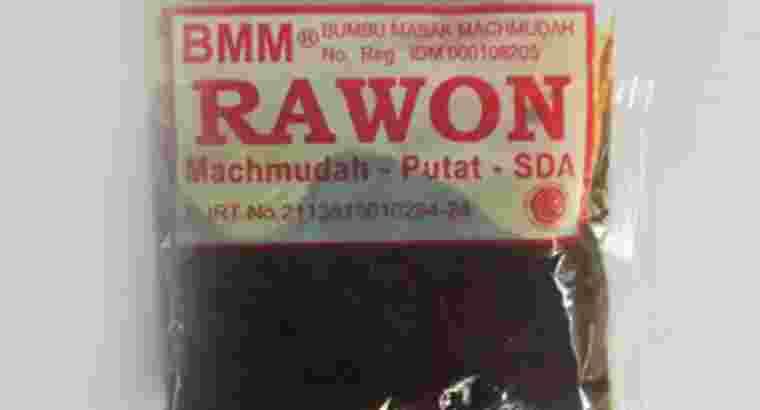 Jual Bumbu Masak Machmudah Rawon 55 gr