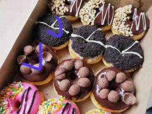 donat aneka toping