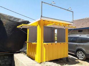 Jual Booth Container Ukuran 2m x 1,7m x 2,3m