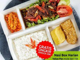 Katering Nasi Box Harian Kantor Jakarta Pusat
