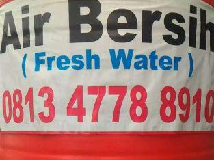 Jual Air Bersih Tandon Balikpapan