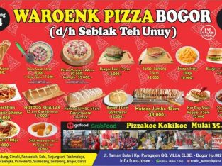 FRANCHISE WARUNG PIZZA / BURGER