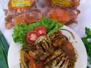 Seafood frozen kepiting