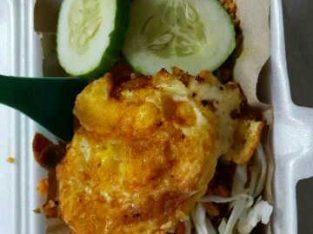 Nasi Goreng Babat + Telur