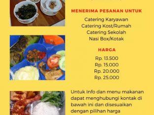 Palembang catering kantor, kost, sekolah, rumah