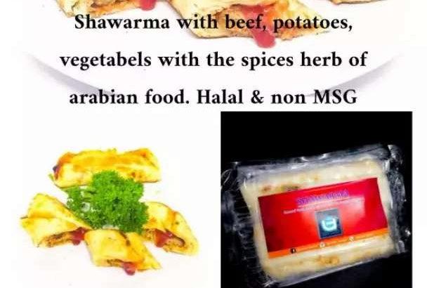 Pusat frozen Arabian Food Supplier ke Cafe, resto,