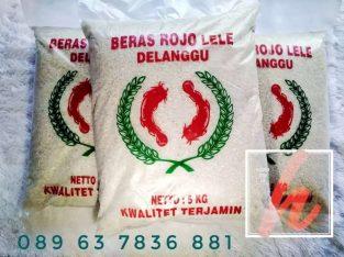 Agen beras Temanggung cap Rojolele