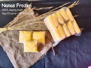 Grosir Frozen Fruits Nanas curah 1kg