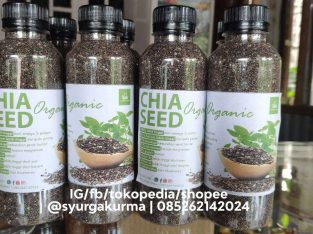 Jual Black Chia seed Organic