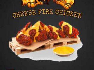 fire chicken cheese