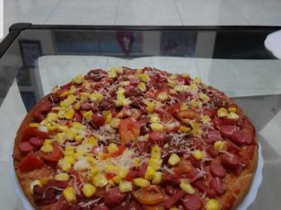 Pizza Taiwanesse Large 26 cm.