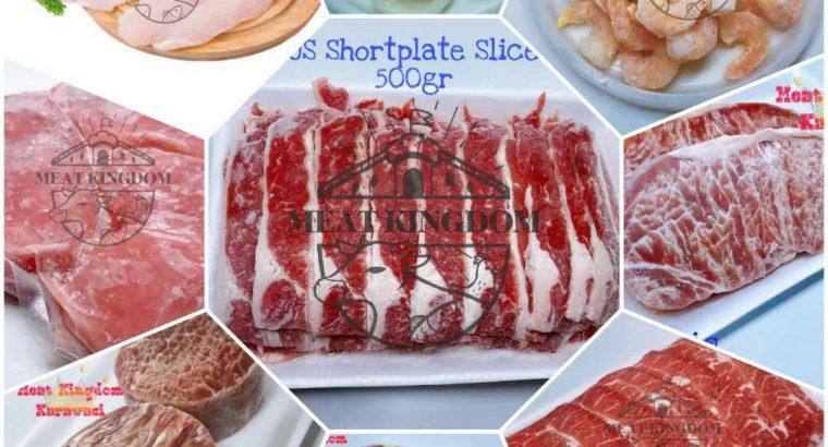 Distributor daging sapi slice,steak n Seafood