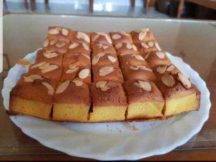 Yellow Pumpkin Cake